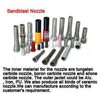 Sandblast nozzle