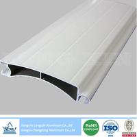 white coated aluminium extrusion for roller shutter