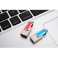 Hot saler Portable metal OTG USB2.0 USB flash drive with COB thumbnail image