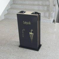 print logo for Galeries Lafayette on the Umbrella bag dispenser_