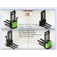 Walkie Electric Stacker factory, Microlift brand or OEM, 1500KG Capacity, ES15 Model thumbnail image