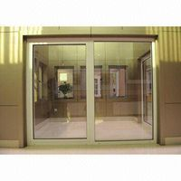 Aluminum window and door with white paint thumbnail image