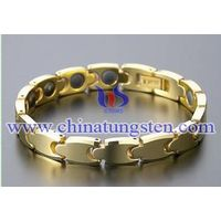 Tungsten Gold Wrist Chain