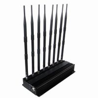 High Power 3G 4G Mobile Phone Jammer and UHF VHF WiFi Jammer