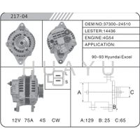 HYUNDAI EXCEL 4G54 ALTERNATOR 37300-24510 MOTOR 14436