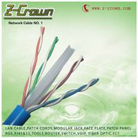 UTP CAT6 CABLE 23awg twisted 4pair