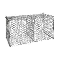 Galvanized Hexagonal Wire Mesh Gabions Baskets thumbnail image
