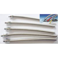 small bore Stainless Steel flexible Conduit for sensor cable protection thumbnail image