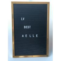 hot selling products decorative,hangeable plastic letter board with 140 letter