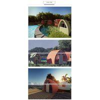 prefab dome house DH-18 thumbnail image