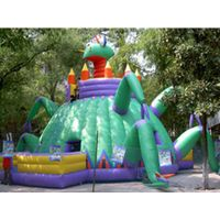 2010 THE NEWEST DESIGNED inflatable bouncy house thumbnail image