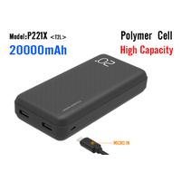 20000mah large capacity portable Power Bank