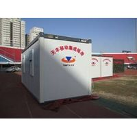 Economical type moving container house