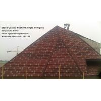 UL SGS Stone coated metal roofing shingle linyi price