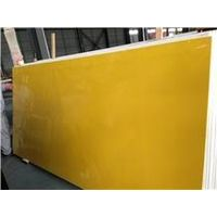 Pure Yellow Artificial Quartz Stone with Good Price