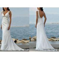 Bare Back Sexy Wedding Dresses
