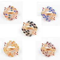 Summer hot new women's hair clips US style set auger tiara crystal hair accessories