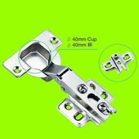 two way hinge full overlay 40mm cup furniture hinge