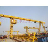 MH boxed type electric hoist single girder gantry crane