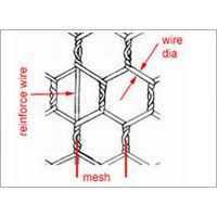 Gal. Hexagonal Wire Mesh