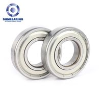 General Machinery Parts Deep Groove Ball Bearing 6207