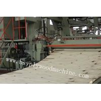 veneer peeling machine for plywood
