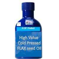High Value Cold Pressed FLAX seed Oil thumbnail image