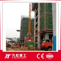 China Jiuhong High performace Construction hoist