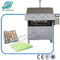 Egg tray making machine from China factory
