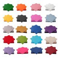 solid color paper napkin