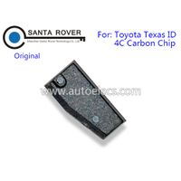 Original Texas ID 4C Carbon Transponder Chip for Toyota