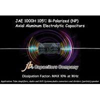 JAE - 1000H 105°C, DF at Max 10% BP Axial Aluminum Electrolytic Capacitors for Audio System
