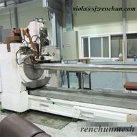 New Drum Intake Wedge Wire Screen Welding Machine for Water Treatment