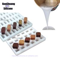 100% platinum catalyst rtv2 liquid silicone for chocolate mould