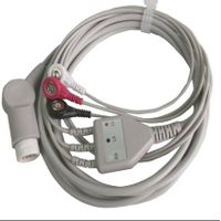 Philips 3 leads ECG Cable with leadwires