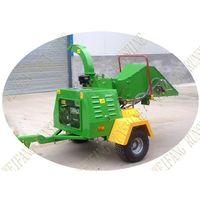 diesel mobile wood chipper