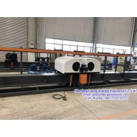 32mm Large diameter CNC double head vertical rebar bending center