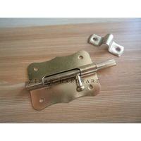 Welding cellar window bolt ,brass plated thumbnail image