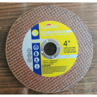 4Inch 107X1.0X16MM Yellow Color Double Net Super Thin Cut off wheel