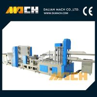 High Speed Double Lanes Napkin Paper Making Machine