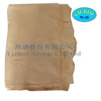 Genuine chamois leather for car drying and cleaning