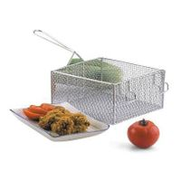 Wire Mesh Fryer Basket (stainless steel or nickel plated)