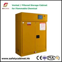 Filtering Flammable Storage Cabinet