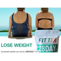 Fast Flat Tummy 28 days Detox Fit Tea Slimming tea thumbnail image