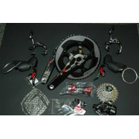 SRAM Red 20122013 8-Piece Yaw Groupset! Brand New. Non-Ceramic BB Included