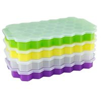 hex ice cube mold silicone