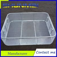 Medical sterilization basket/Stainless steel sterilizing basket