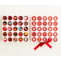 Luxury Custom Design Advent Calendar Box Christmas Drawer Box