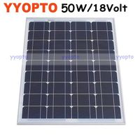 Mini mono solar panel 50W thumbnail image