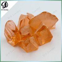 Morganite Color Nanosital Rough Uncut Stones